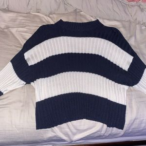american eagle striped sweater!!
